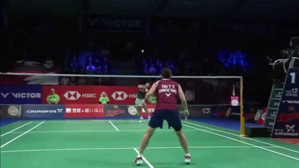 Badminton video playback