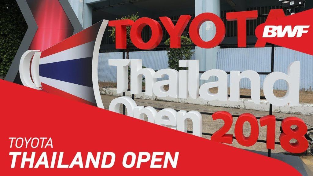 【バドミントン】タイオープン2019のYouTube動画をまとめ