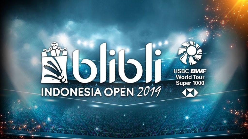 【バドミントン】インドネシアオープン2019のYouTube動画をまとめ【組み合わせ・結果】