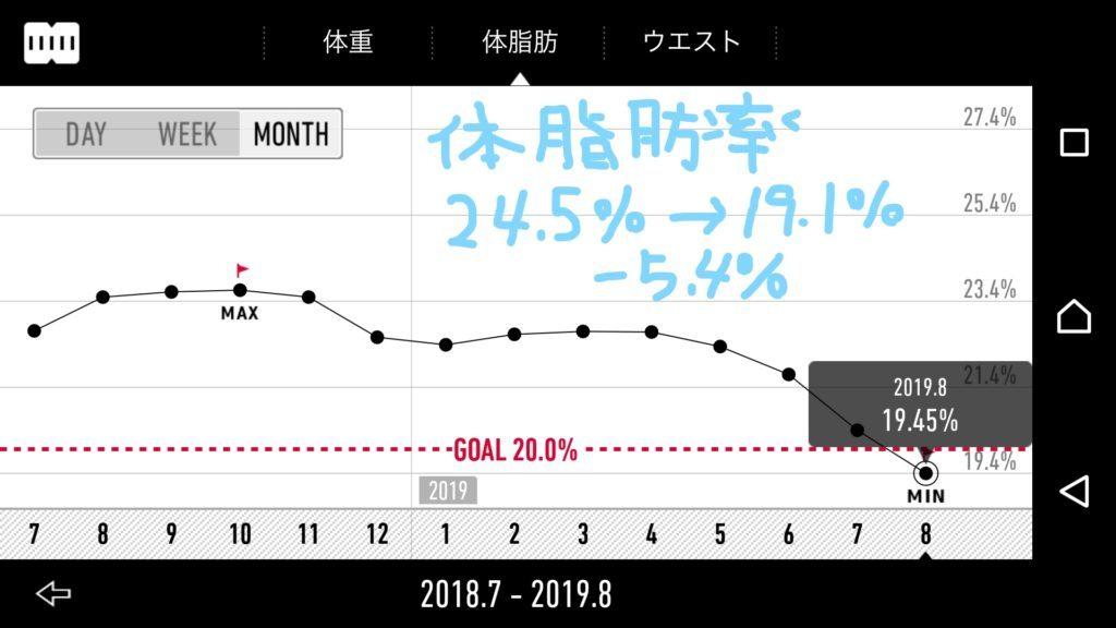 糖質制限せずに痩せるダイエット1年経過【長く続けるコツは体重管理アプリ「RecStyle」で毎日測定】