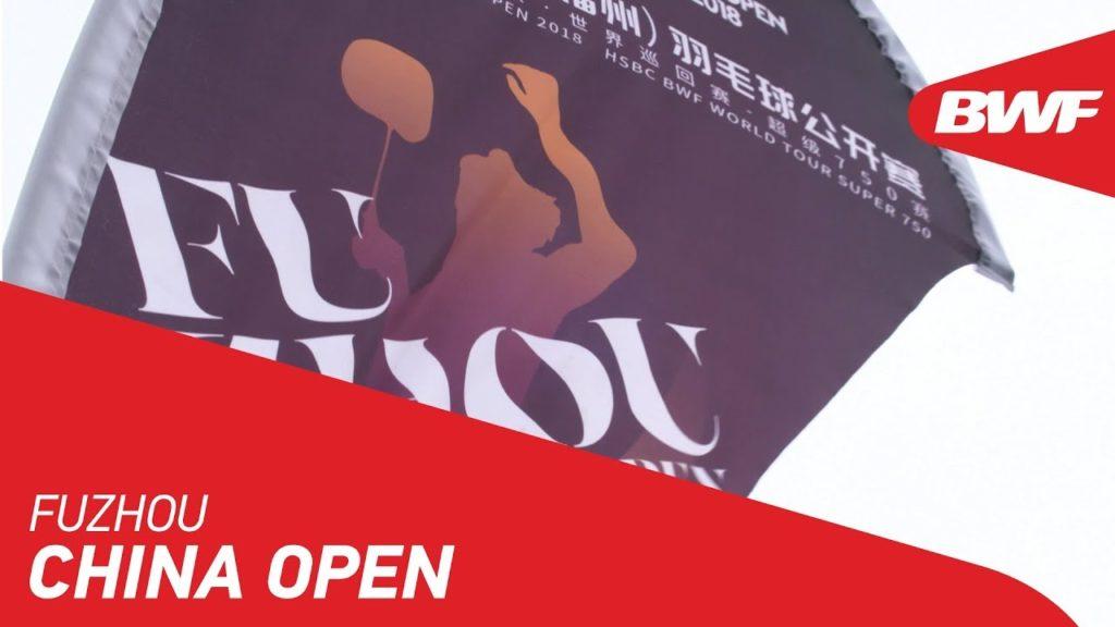 福州中国オープン2019のYouTube動画紹介
