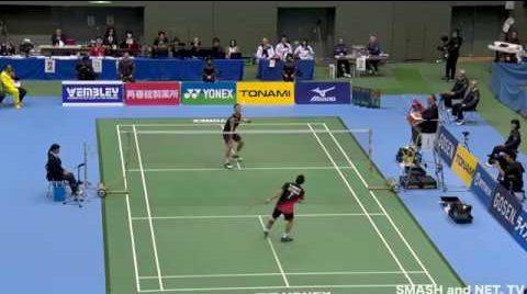 全日本総合バドミントン選手権大会のYouTube動画紹介