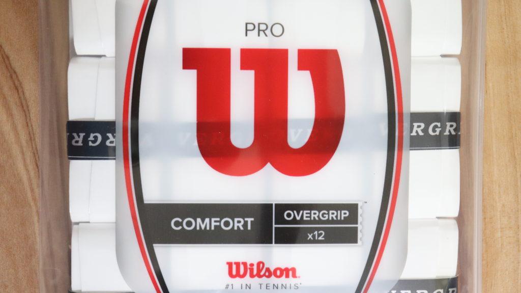 Wilson プロオーバーグリップの外観