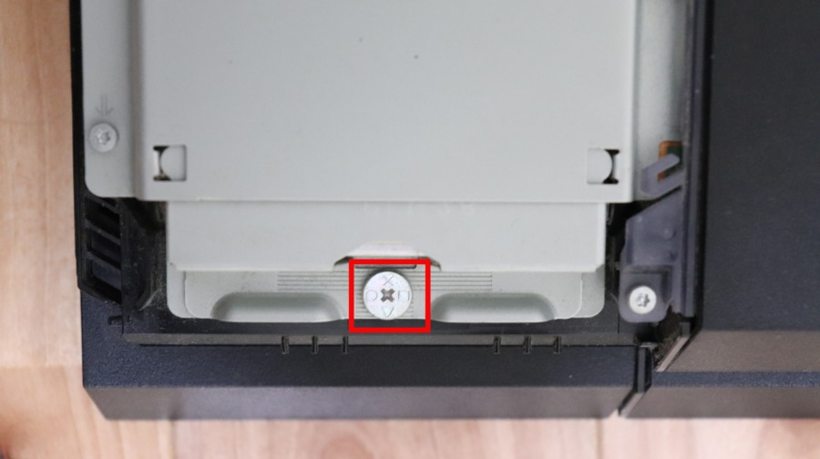 PS4 SSD換装 ネジ